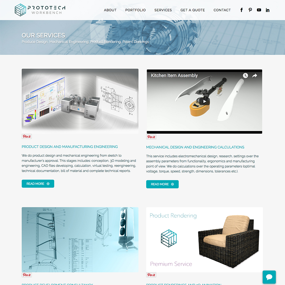 ProtoTech Workbench Company